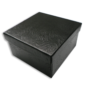 Black Swirl Jewelry Gift Boxes