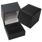 Deluxe Matte Black Jewelry Boxes