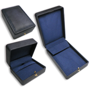 Deluxe Leatherette Jewelry Gift Boxes - Jewelry Display Inc