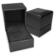 Black Leather Gift Boxes: The Broadway Collection