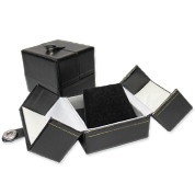 Black Double Door Leatherette Gift Boxes